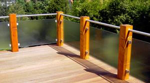 Link zu Holz im Außenbereich